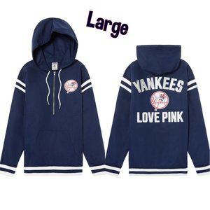 NY Yankees Jacket MLB Victorias Secret Anorak⚾RARE